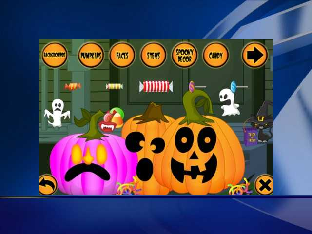 Your kids can design their own virtual pumpkins with thousands of design combinations. You can even share it on Facebook.