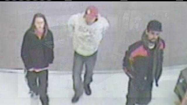 Thieves seen in surveillance video