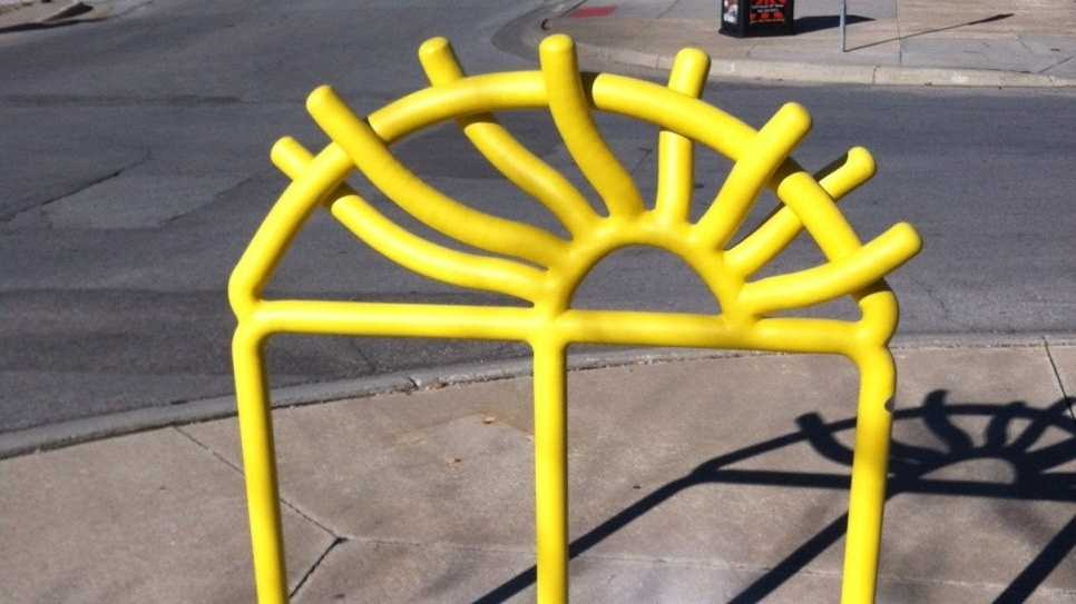 Photo: Bike rack