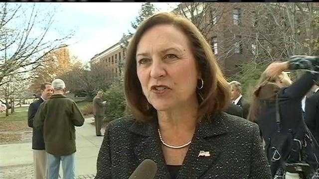 Deb Fischer joined Nebraska's Congressional delegation in Lincoln the day after being elected to the U.S. Senate.