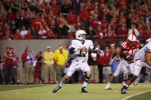 Penn State's Matt McGloin was 18-37 passing with one interception for a total of 240 yards. He was sacked three times.