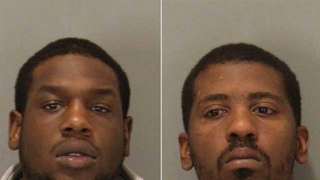 Cameron X. Jackson, 24, and Antonio T. Valentine, 23