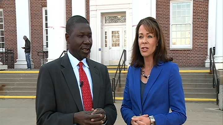 Dr. Joseph Dumba and KETV NewsWatch 7's Julie Cornell will travel to South Sudan next spring.