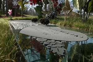 A Council Bluffs man says he spent months trying to find the person who was stealing from his wife's grave.