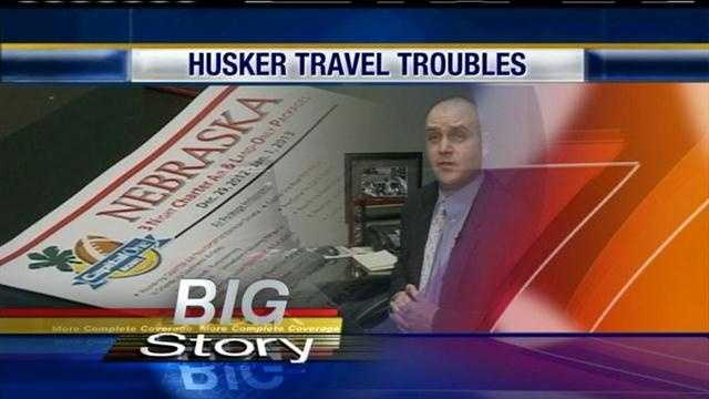 Nebraska's 70-31 loss against Wisconsin not only cost the Huskers a Big 10 Championship and a trip to the Rose Bowl, but it's costing travel agencies and retailer stores business.
