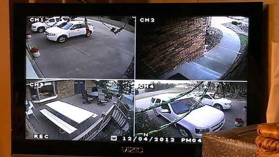 PHOTO: home surveillance