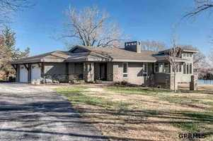 This 4-bed, 3-bath Bennington Ranch-style home sits on a 22 acre-lot. It's listed at $1.985 million. See the full listing at REALTOR.com.