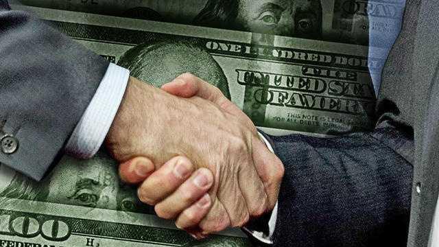 PHOTO: money AP graphic