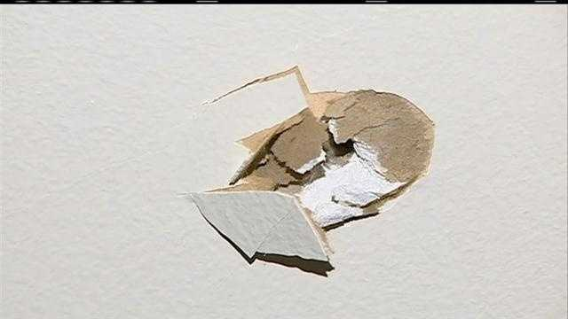 An Omaha family has a terrifying start to the new year when a bullet lands in their living room right after midnight.