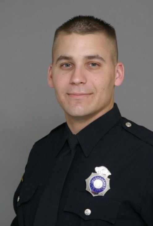 Ofc. Carl Hanson, 3612-year veteran