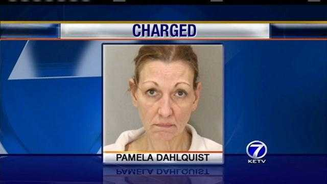 Former Douglas County Prosecutor Pam Dahlquist was caught shoplifting at Westroads Mall this week.