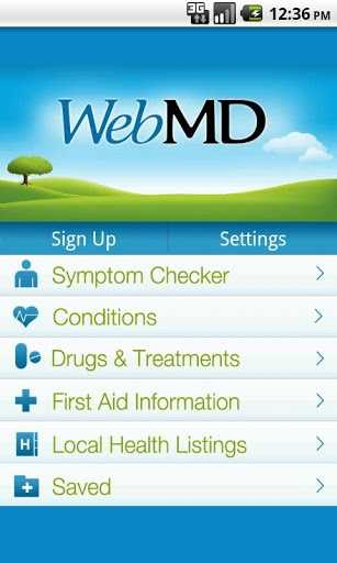 WebMD allows you to check the part of your body that is troubling you, identify your symptoms and learn about potential conditions.