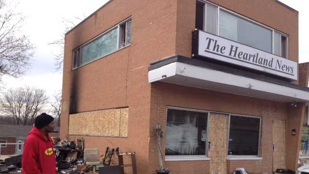 PHOTO: Heartland News fire
