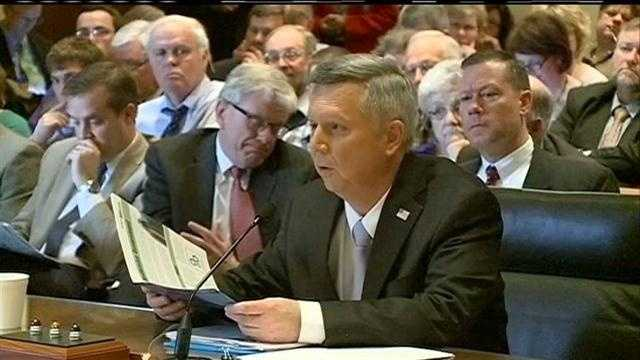 KETV NewsWatch 7 was in Lincoln during the public hearing on Gov. Dave Heineman's tax plan.