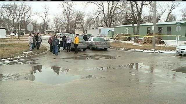 A Council Bluffs man expresses shock after learning his brother shot his girlfriend and then killed himself Saturday.