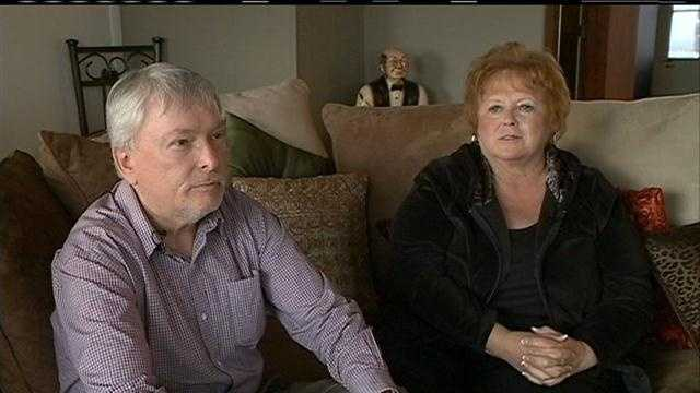 A Cass County, Nebraska, couple is finally home after spending an extra five days at sea stranded on Carnival Triumph.