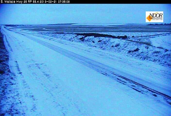 Highway 25, south of North Platte