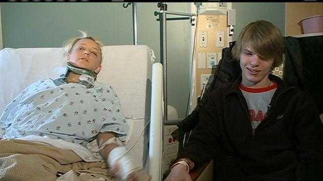 Teen crash survivors
