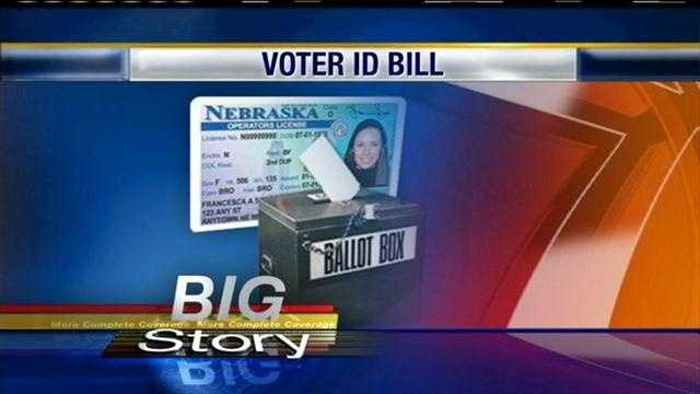 A bill that would require government-issued photo identification to vote in Nebraska is triggering a heated debate in the Legislature.