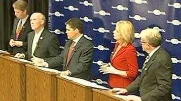 PHOTO: Mayoral candidates
