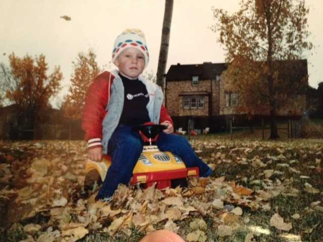 """Jeremy's favorite time of year is the fall. """"Days like Halloween and Thanksgiving bring family and friends together, and I loved playing in the leaves as a kid."""""""