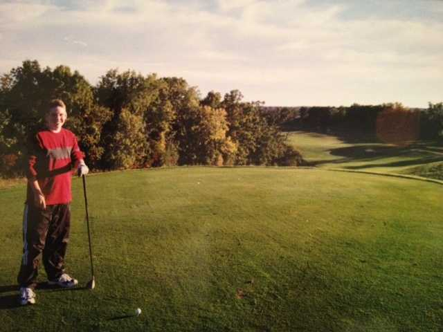 """Jeremy likes to spend his free time being active. """"I love to golf, I try to run, and in the summer I'm doing almost anything I can outdoors."""""""