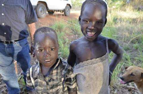 Kids in Kajo Keji