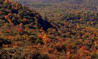 """Her favorite time of year is """"absolutely Autumn. I've always loved when the leaves turn colors, and when I lived in Virginia it was even more impressive in the mountains!"""""""