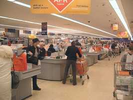 Cashiers -- $19,520/Year