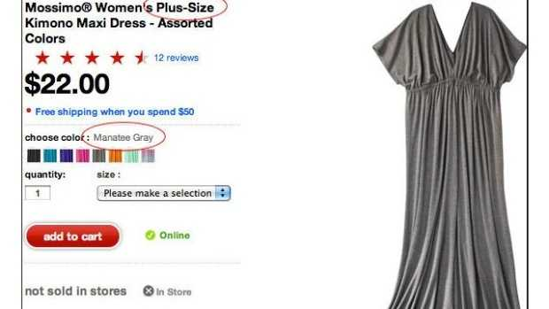 Target Apologizes For Plus Size Dress Label Manatee Gray