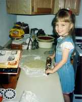 """""""I make a bucket list for every five years--On my current bucket list, is learning how to cook. Let's just say I'm a work in progress."""""""