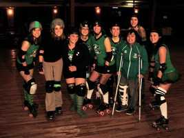 """""""When I worked in Des Moines, I was reporting live during the morning show with a female roller derby team. They suited me up to demonstration the role of a """"jammer"""" (person who scores points). Their captain was on crutches explaining the move live-the girls threw me and I forgot where the brakes were on roller skates. Needless to say, I wiped out and nearly took out the girl on crutches. Live."""""""