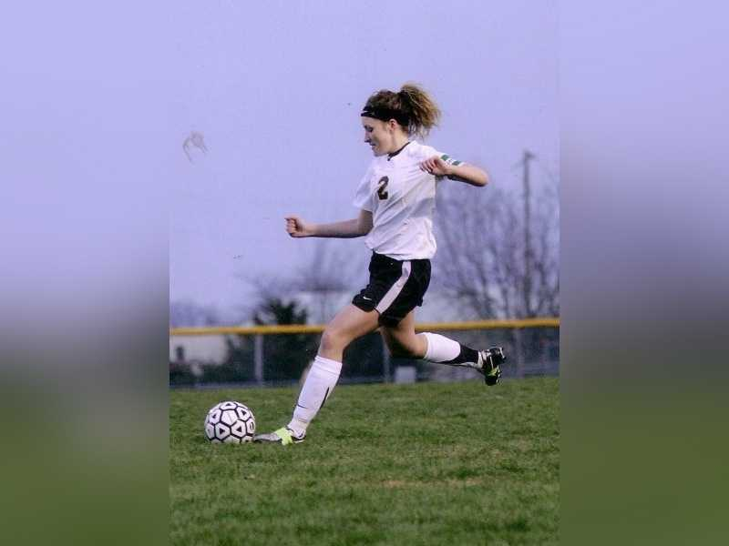 """""""I ran track/cross country and played soccer. My forte was soccer-I started when I was 4."""""""