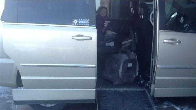 disabled van
