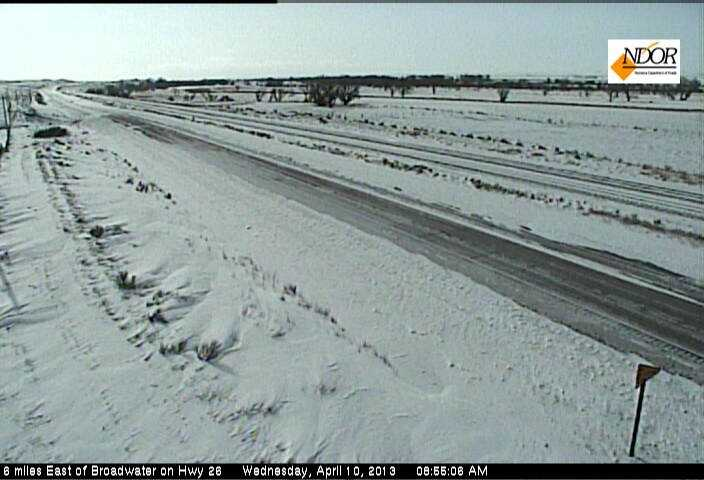 6 mi East of Broadwater on Hwy 26