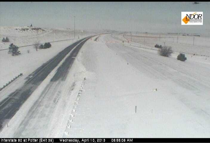 Interstate 80 at Potter (Exit 39)