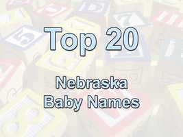 The Social Security Administration released the most popular baby names of 2011.  Here's a look at what names made the list in Nebraska.