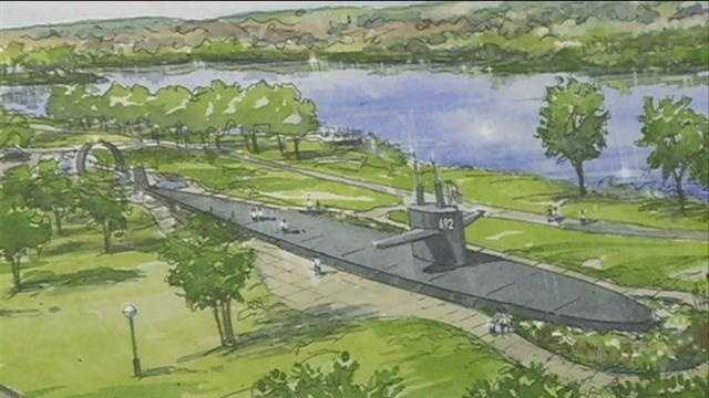 Key pieces of a U.S. Navy submarine that once patrolled the oceans are now destined for a new memorial in Omaha.