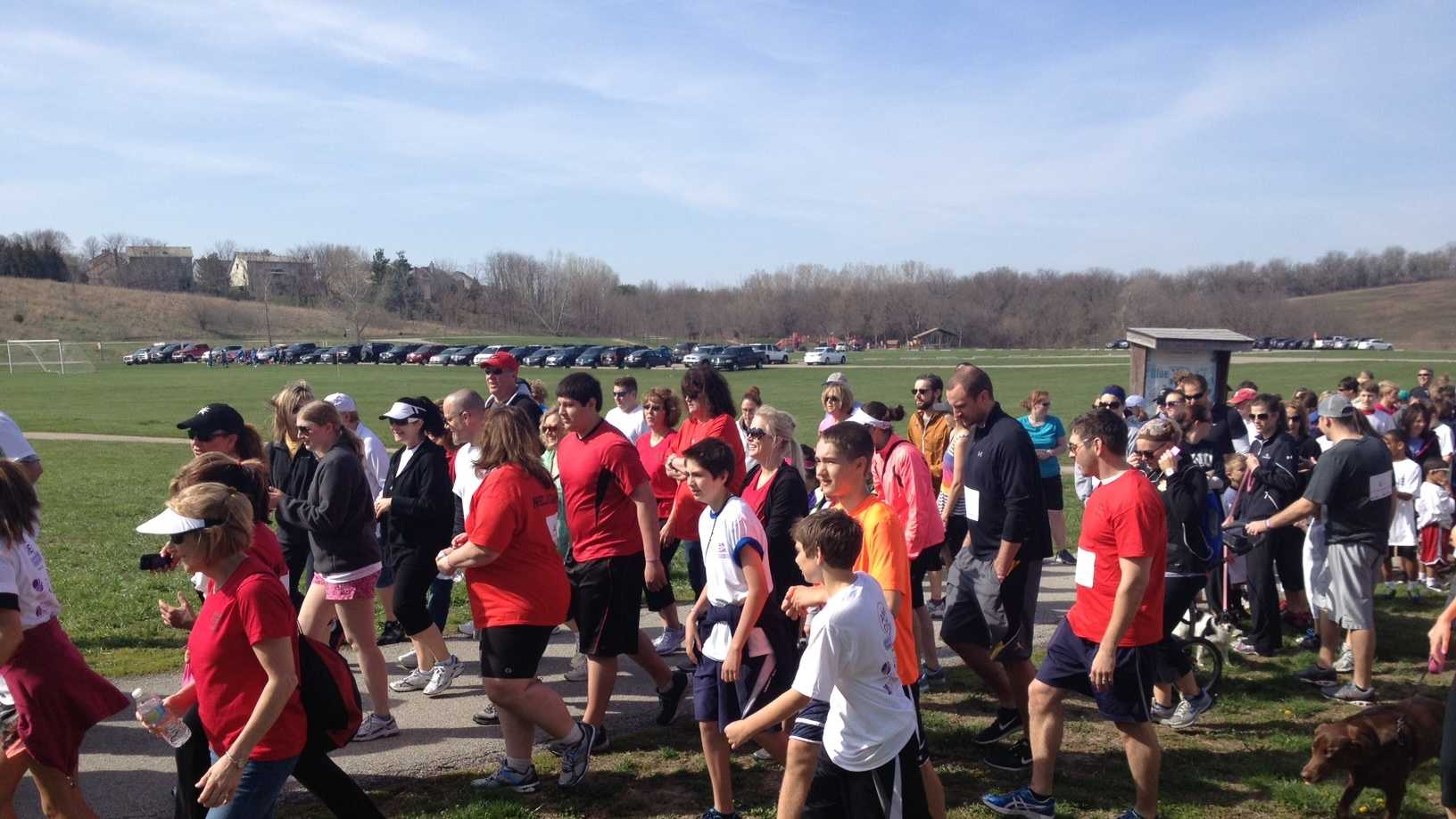 img-Hundreds join walk to raise money for melanoma cure research