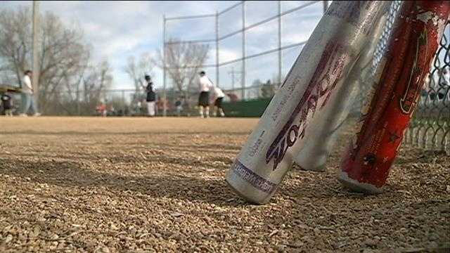 Disabled athletes team up with a top high school baseball team for some action on the diamond.