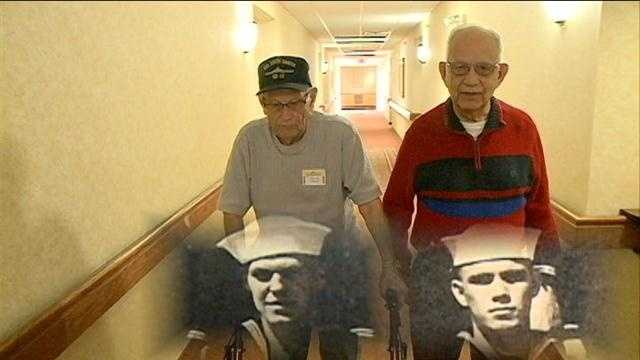 After 70 years of living separate lives, two World War II Navy soldiers renewed their friendship after fate brought them back together.