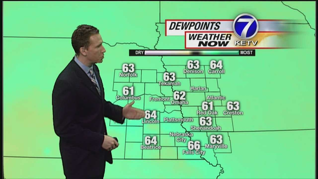 Get ready for a very hot and HUMID day across Nebraska and Iowa. Meteorologist Matt Serwe has the latest in this Weather Now forecast.