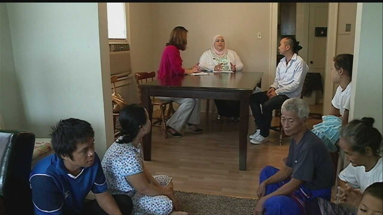 Omaha is often touted as a great place for families, and relief agencies say it's also a friendly place for refugees.