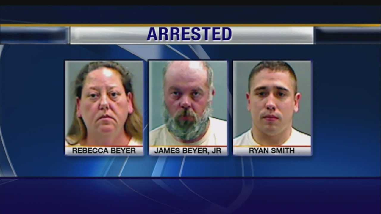 Three face charges in Council Bluffs case