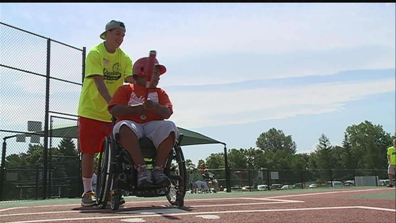 Between the College World Series and summer beginning, baseball is a popular sport in Omaha. For some children who have disabilities, however, playing on a regular team isn't an option.