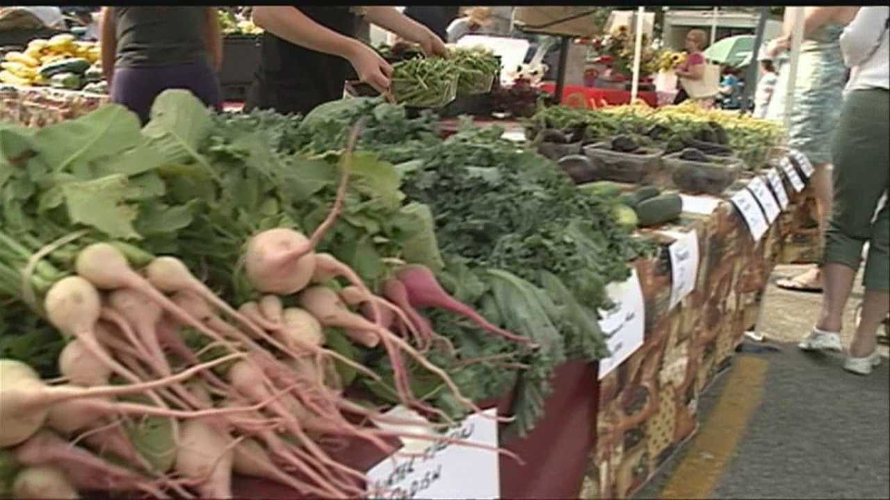 Health officials said 35 people in Nebraska and 60 people in Iowa have come down with cyclospora infection. With a widespread parasite in circulation, more shoppers are putting their faith in locally-grown produce.