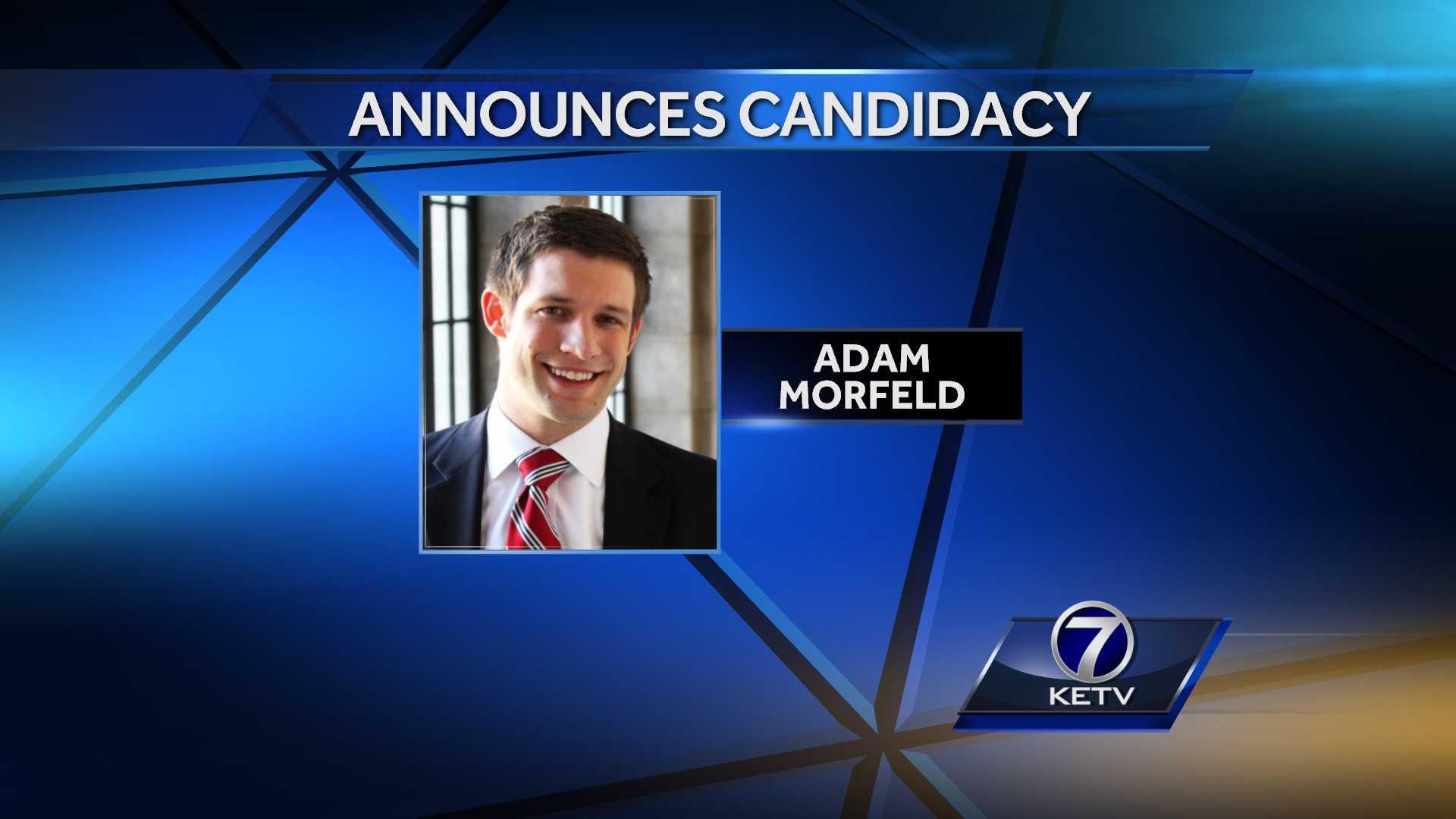 Adam Morfeld - Candidacy gfx