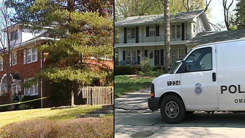 This composite image shows the scenes of two double homicides that police have linked to Anthony J. Garcia.  On the left is the Dundee home of Dr. Bill Hunter, whose son and housekeeper were killed in 2008.  On the right is the home of Dr. Roger and Mary Brumback, who were found dead in May 2013.