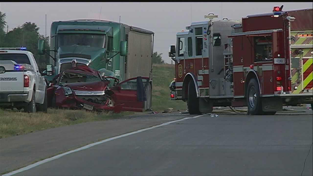 A 13-year-old boy was killed in a crash just south of Plattsmouth on Friday.