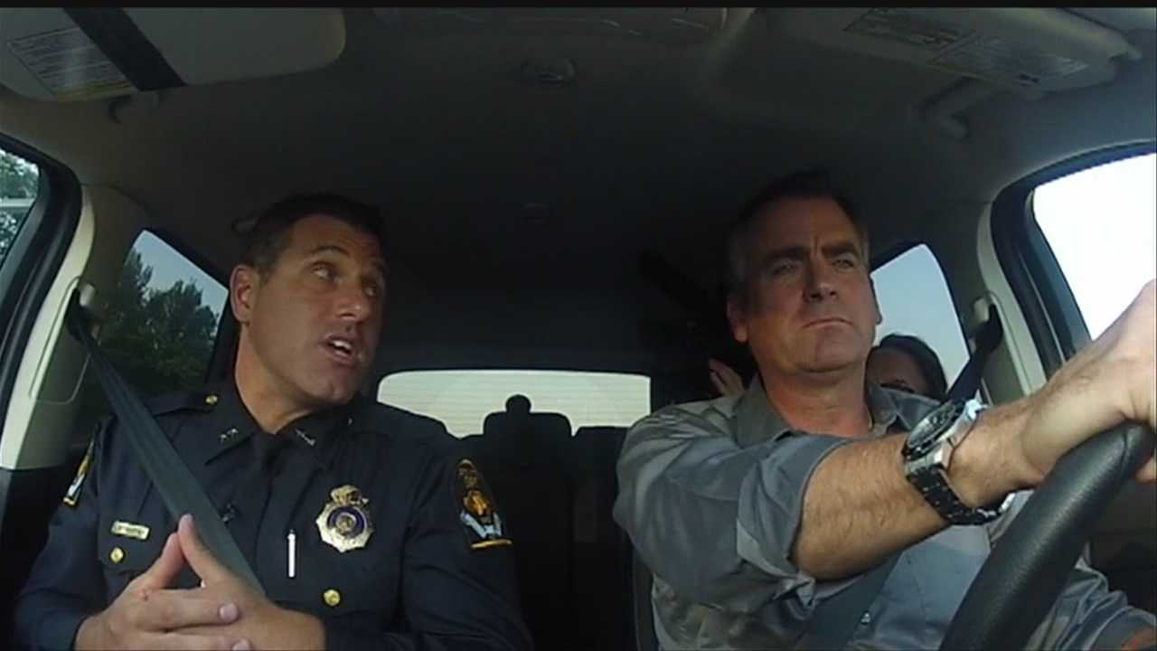 KETV NewsWatch 7's Rob McCartney took an exclusive drive around Omaha with Police Chief Todd Schmaderer to look at the city's four precincts.